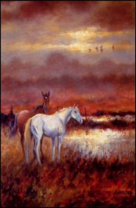Evening- Lough Owel