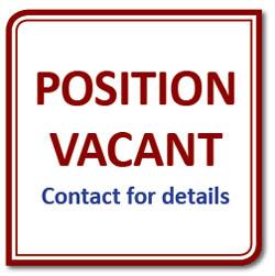 SEA position vacant