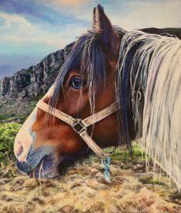 Helen Eaton painting