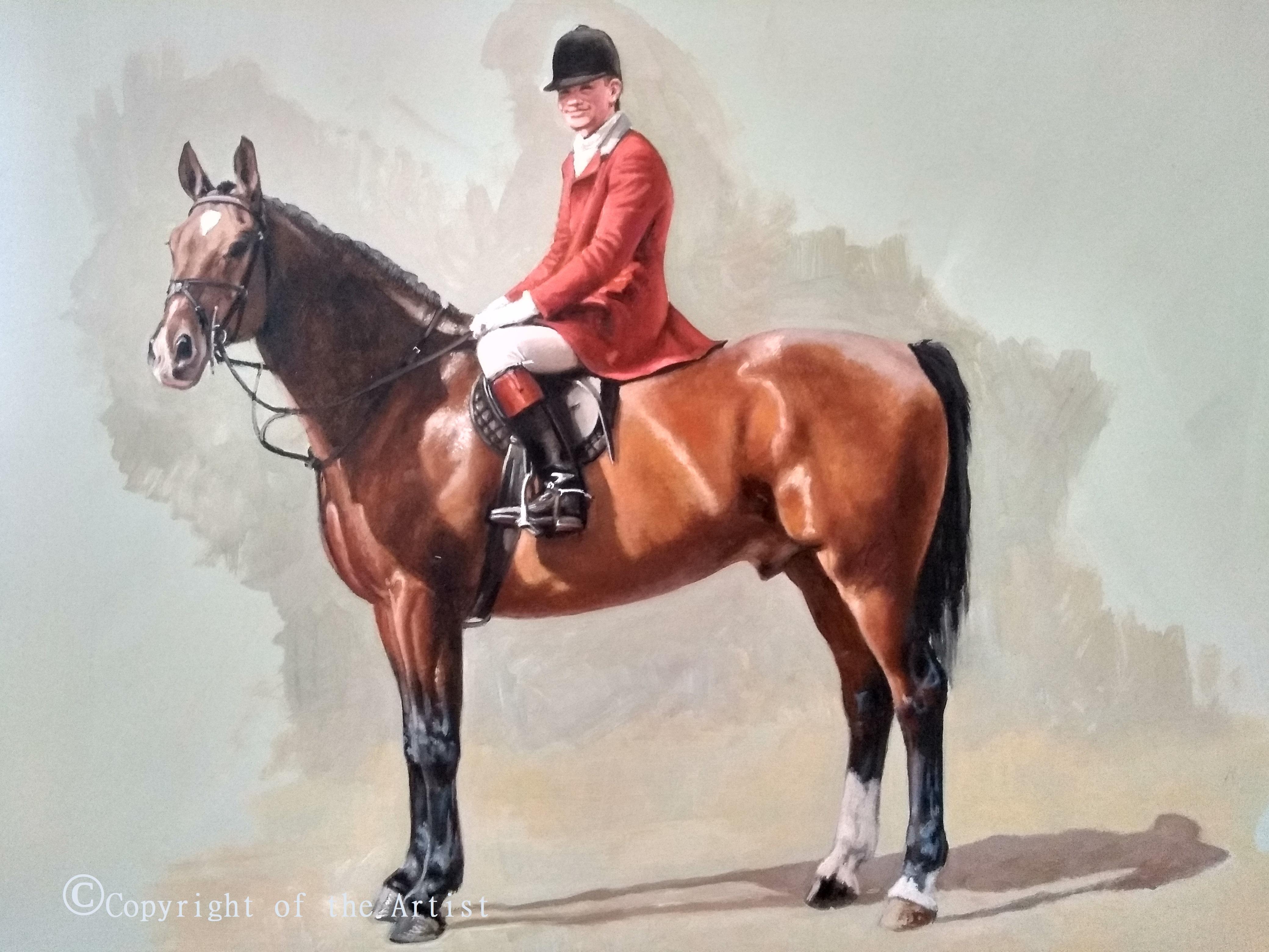 Jennifer Bell oil painting South Notts