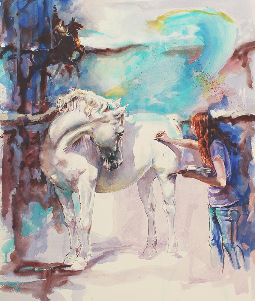 Ruth Buchanan Watercolour