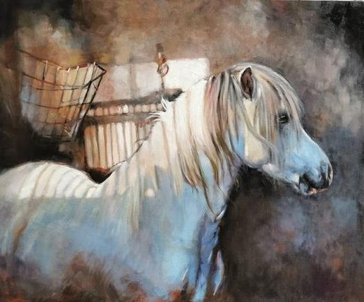 welsh pony painting Dunbar