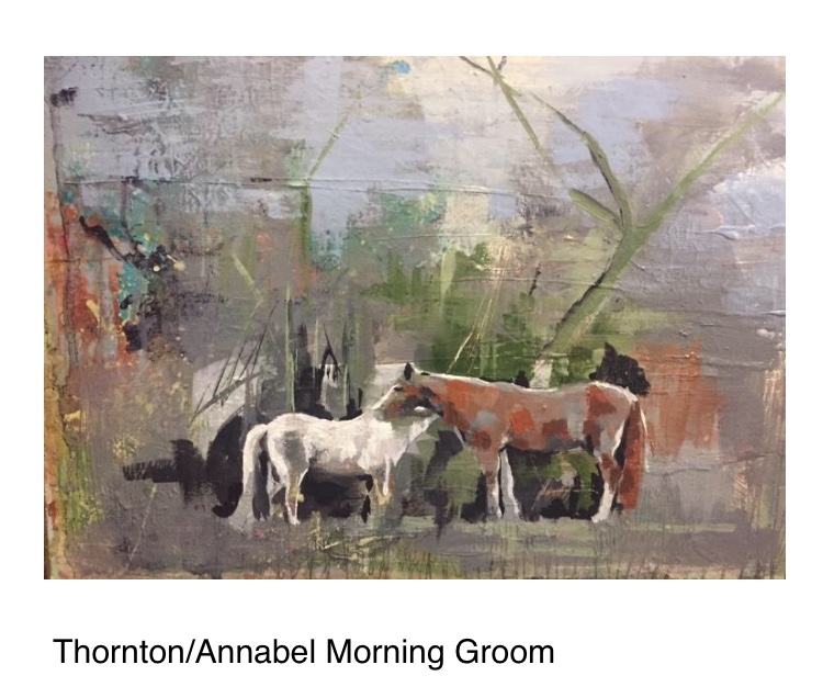 Thornton, A painting horses