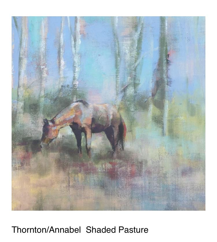 Thornton equestrian painting