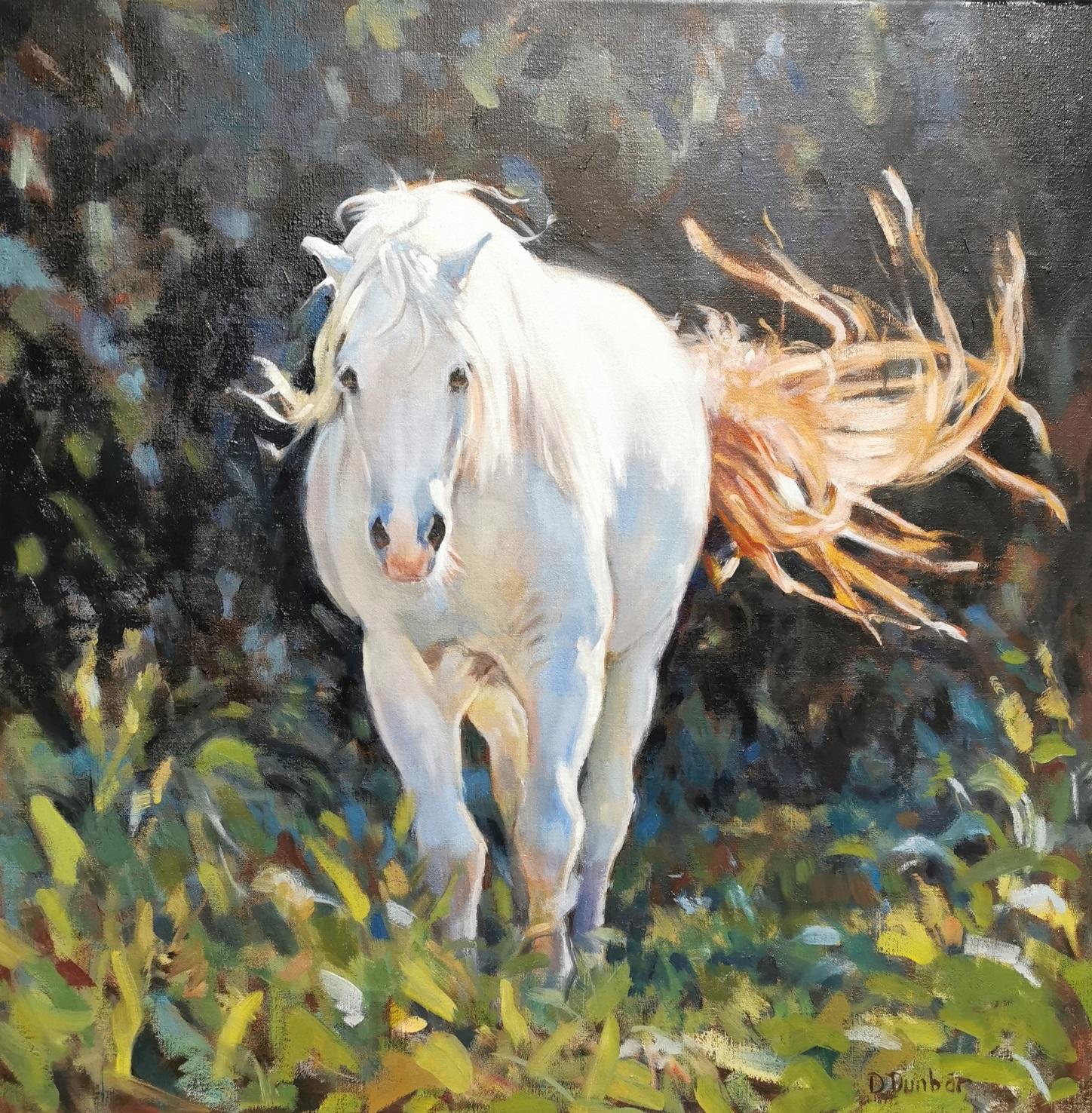 Dunbar equine painting mountain pony